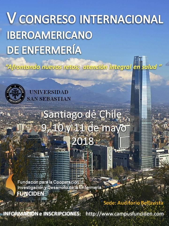 V Congreso Internacional Iberoamericano Enfermeria 2018