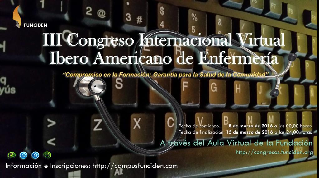 III Congreso Internacional Virtual Ibero Americano de Enfermería